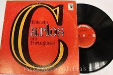 """Roberto Carlos - em portuguese (1977) LP 12"""" (G)"""