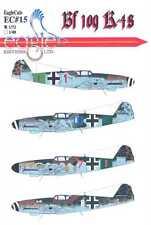 EagleCals Decals 1/72 MESSERSCHMITT Bf-109K-4 Fighters