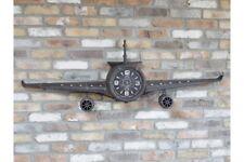 Vintage Large Aeroplane Clock  - Stunning Bedroom Feature Large 145cm Wing Span
