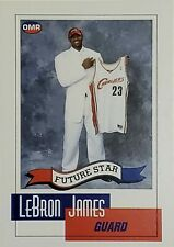 SCARCE! 2003-04 LeBron James Future Star OMR RC #NNO Cavs Lakers MVP #1 Draft SP