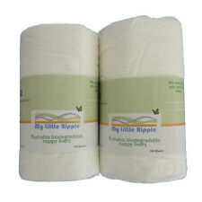 200 Sheets Flushable Nappy Liners for Modern Cloth Nappies