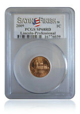 PCGS SP68 RD 2009-P Professional Life Satin Finish Cent