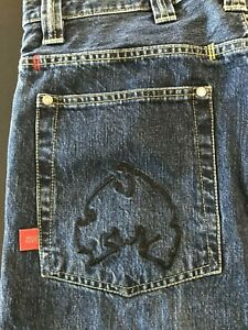 Classic Method Man Jeans Hose Wu Tang Redman Rarität Wu Wear Hip Hop Rap