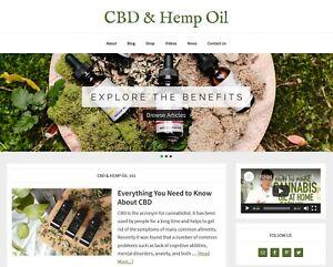 [NEW DESIGN] * Benefits of Hemp Oil Website * affiliate product blog AUTO POSTS