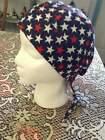 Women's Doo Rag Skull Cap, Motorcycle or Chemo Bad Hair Day  cotton Print