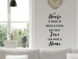 A House Is Made Of Wood And Stone