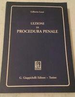Gilberto Lozzi - LEZIONI DI PROCEDURA PENALE - 1994 - Giappichelli