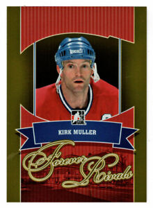 Kirk Muller - Montreal Canadiens 2012-13 ITG Forever Rivals GOLD # 42 Mint