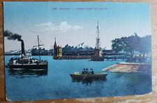 Ansichtskarte - 1921 - Flugpost Hafeneinfahrt mit Säntis Konstanz