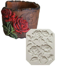 Sugarcraft Rose Slicone Fondant Mold Cake Decor Tools Chocolate Gumpaste Mold