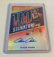 R43,491 - 2018-19 Hoops Hot Signatures #17 Alvan Adams Autograph Suns