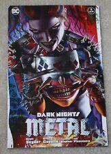DARK NIGHTS METAL 6 GREG HORN HARLEY QUINN WHO LAUGHS SPIKED MASK VARIANT BATMAN