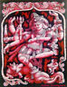 Ethnic Decor Poster Wall Hanging Tapestry Hippie Natraj Ancient Shiva Lord Art