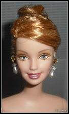Nude Barbie Sophisticated Wedding Strawberry Blonde Fancy Updo Doll For Ooak