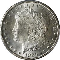 1880-CC Morgan Silver Dollar PCGS MS63 Blast White Nice Eye Appeal Nice Strike