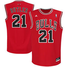 e9fbef6a Jimmy Butler Chicago Bulls Adidas NBA Replica Jersey - Red Men's