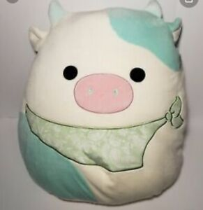 """2021 Easter Squishmallow 16"""" Belana The Cow NWT!"""