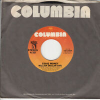 Eddie Money Million Dollar Girl b/w Trinidad 45-rpm Record VG Vinyl