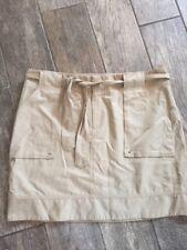 BANANA REPUBLIC Beige/ Tan Skirt Women Sz 14