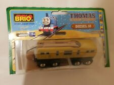 Thomas The Tank Engine & Friends BRIO DIESEL 10 WOOD TRAIN WOODEN NEW IN BOX