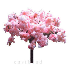 20pcs  Blossom Cherry HO OO Scale Model Trees Scenery Railroad Layout Scene 65mm
