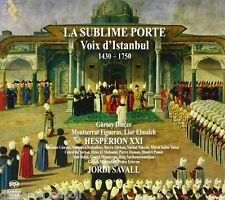 La Sublime Porte - Voix d'Istanbul / Savall, Figueras, Hesperion XXI - SACD