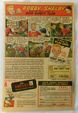 1950 Bobby SHELBY bicycle ad page ~ BIKE SAFETY CLUB with DONALD DUCK