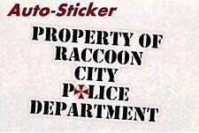 Property of Raccoon City Umbrella Corp Bunte Sticker Aufkleber Digital JDM