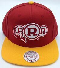 69599b90665 NFL Washington Redskins Mitchell and Ness Retro Adult Adjustable Cap M N ...