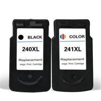 2PK Ink Cartridges PG 240XL CL 241XL For Canon PIXMA MG2120 MG3120 MG3122 MX372