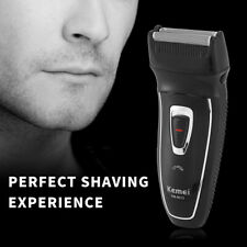 Kemei Rechargeable Electric Shaver Men Foil Thin  Shaver Reciprocating Razor IO
