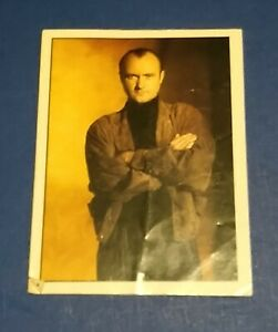 VINTAGE RARE 1989 PHIL COLLINS TOP OF THE POPS MERLIN STICKER # 113 GENESIS PC
