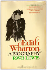Edith Wharton: A Biography by R.W.B. Lewis PAPERBACK Pulizter Prize winner