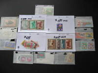 Indonesia better stamps in glassines, sales cards!