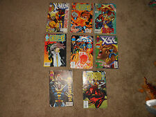 8 X-Men, Generation X comic book issues from 1994-1998!