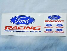 """Ford Racing"" Mini Decal set-6 in all. Models-Dash-Toys Good DEAL -KQQL-Mustang"
