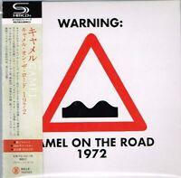 """Camel  """"On The Road 1972"""" Japan LTD Mini LP SHM-CD w/OBI"""