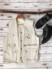 KARL HELMUT Embroidered DOG Utility Fishing Hiking Photography Vest RARE Large L