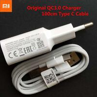 Original Xiaomi Fast Wall Charger USB Cable For Redmi K20 Pro Note 7 Pro Poco F1