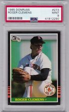 1985 Donruss #273 Roger Clemens PSA 9 MINT RC Rookie