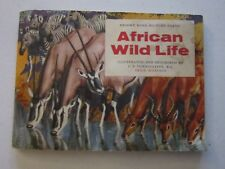 AFRICAN WILD LIFE. BROOKE BOND TEA. COMPLETE SET IN FULL ALBUM.   (EPH)