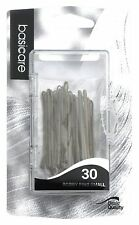 Basicare - Brown Kirby Grips / Bobby Pins Small (5cm) (Pack of 30)