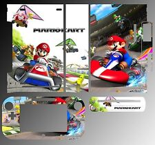 Skin Sticker Cover for Nintendo Wii U Console & Controller 217 Super Mario Kart