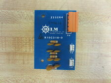 Helm B10C318-0 B10C3180 Circuit Board - Used