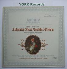 2533 041 - HASSLER - Lustgarten Neuer Teutscher Gesang KNOTHE - Ex Con LP Record