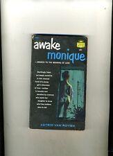 PULP SEX. AWAKE MONIQUE. ROYEN. 1ST CREST 1958. GIRLS SEX DISCOVERY. VINTAGE CVR