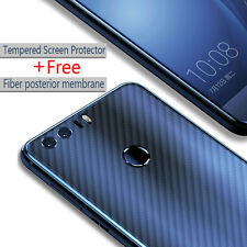 NEW Tempered Glass Screen Protector+Free Back Protective Stickers For Huawei P9