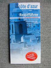 Reiseführer, Info Guide, Taschenformat mit großer Landkarte, Cote d`azur