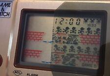 Filtro Polarizado Nintendo Game & Watch SILVER y GOLD. Polarize Film Filter.