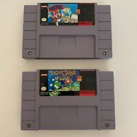 Yoshis Safari & Mario Paint Snes Super Nintendo Game Works Tested Authentic
